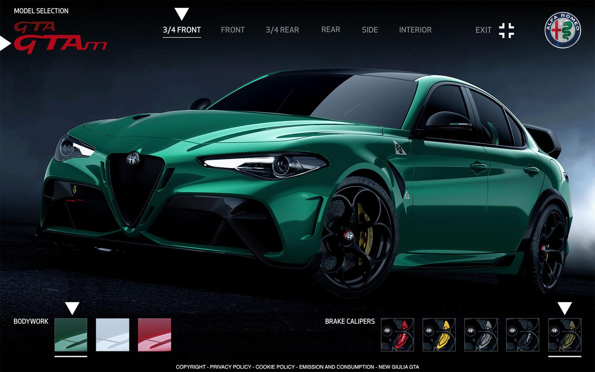 Priserna för Alfa Romeo Giulia GTA och GTAm är här