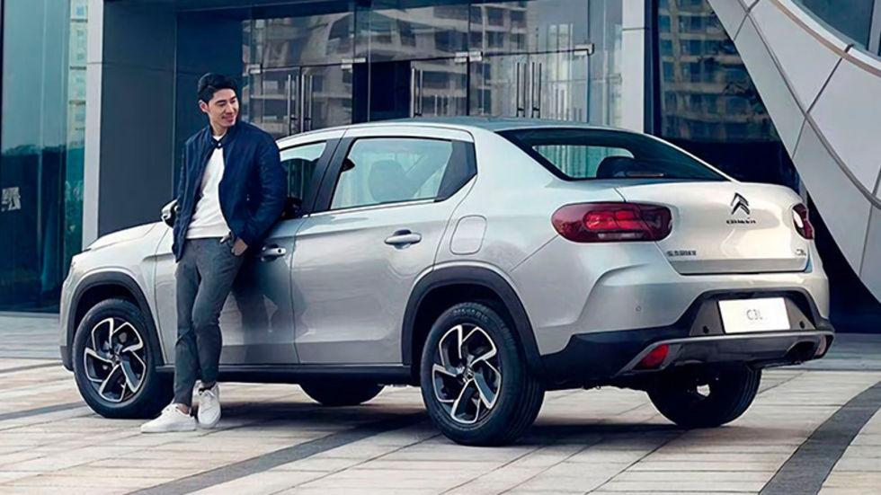 Det här är Citroëns nya högbyggda sedan C3L