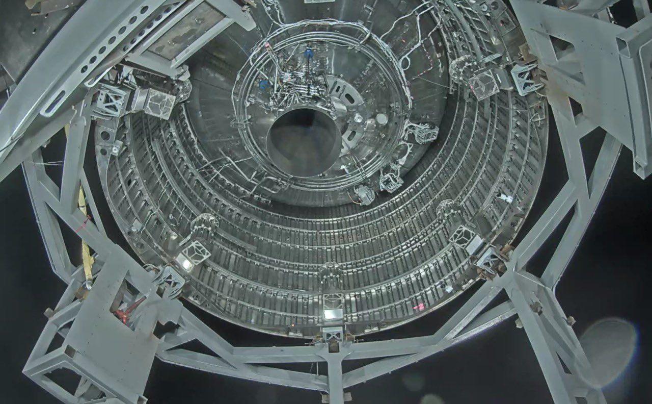 SpaceX har testat Starships raketmotor