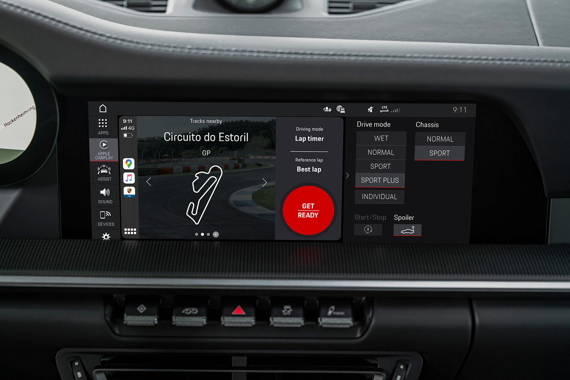 Porsches Track Precision App får fler funktioner