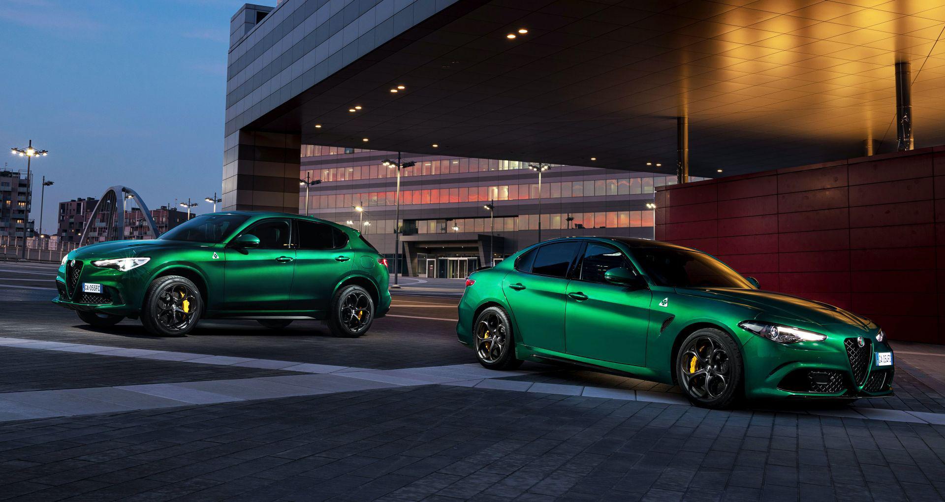 Alfa Romeo Giulia och Stelvio Quadrifoglio uppdateras