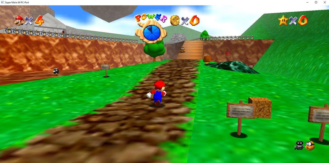 Nintendo gillar inte Super Mario 64 PC