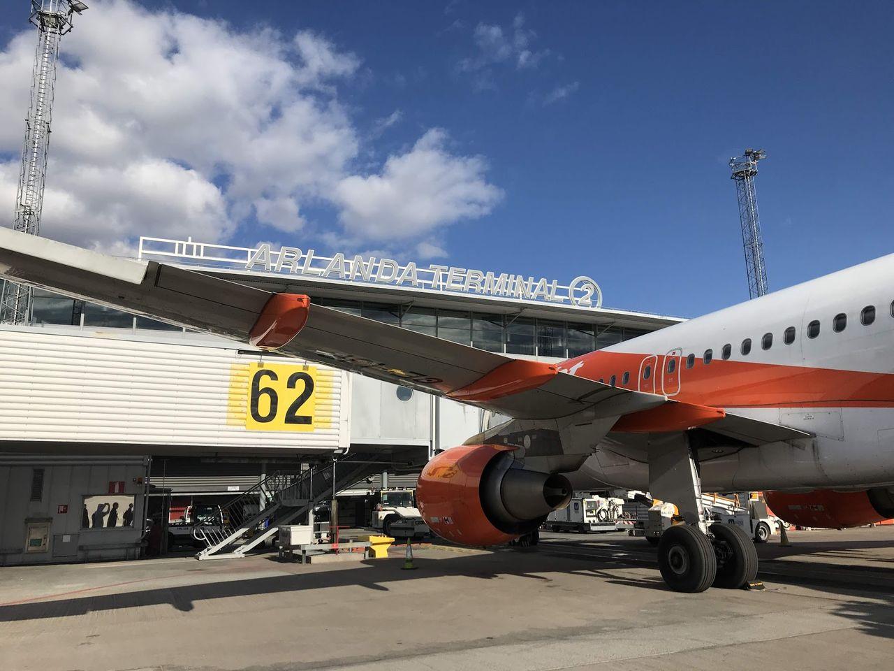 Resandet med flyg minskade med 98 procent i april