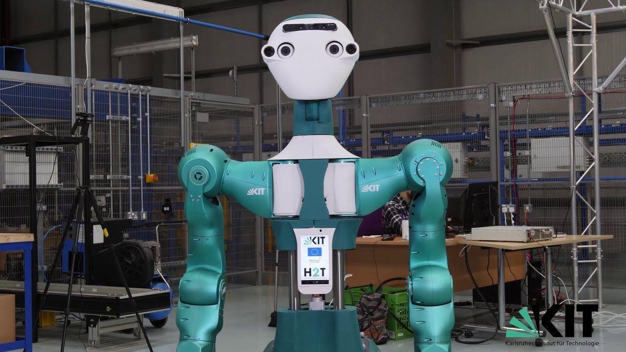 Roboten Armar-6 vill arbeta som hantlangare