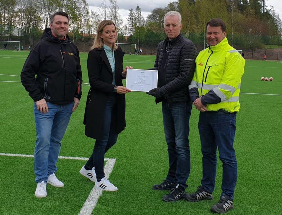 Uppsala fixar Fifa-godkänd konstgräsplan utan granulat