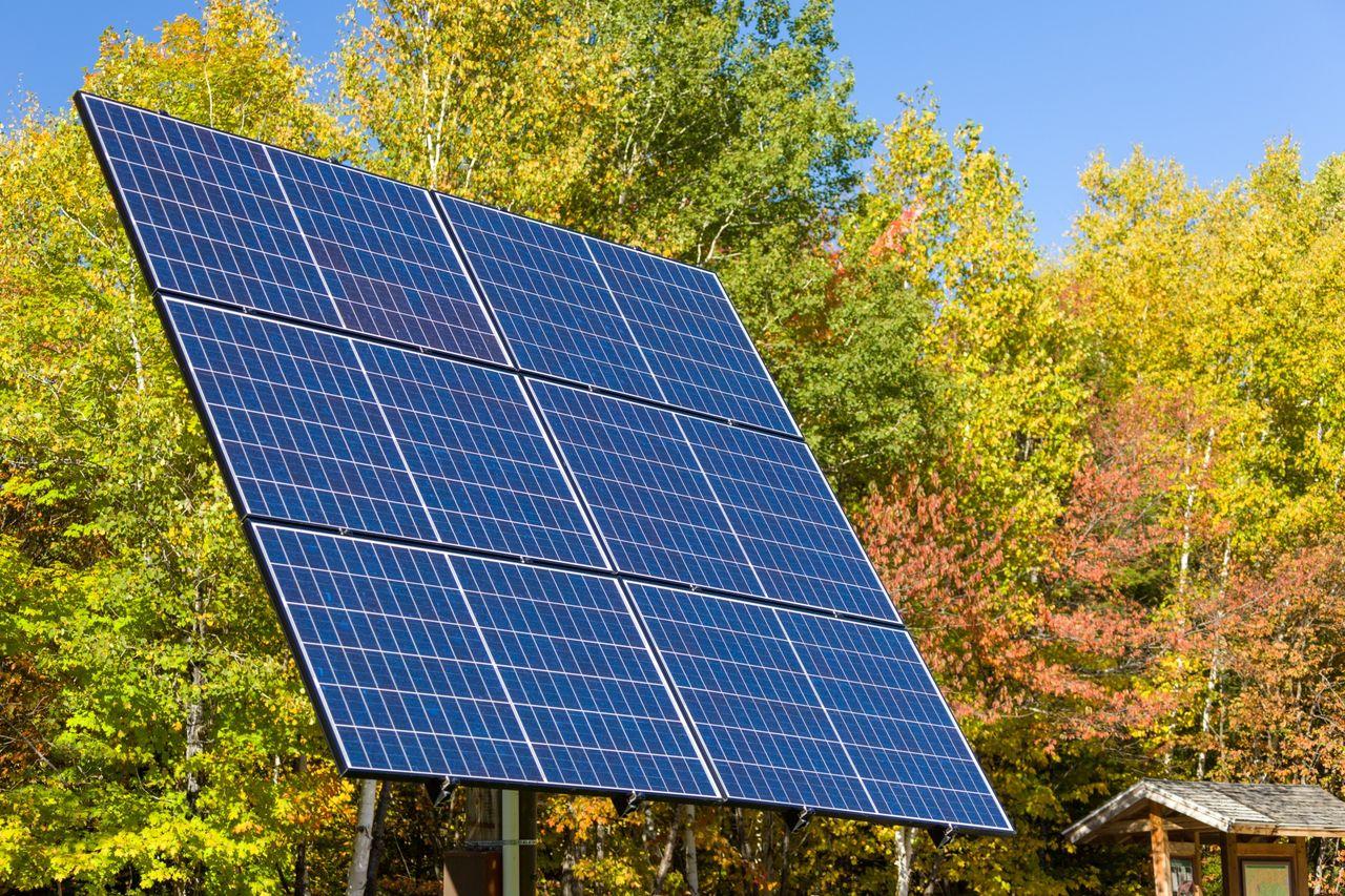 Forskare får solpaneler att svettas