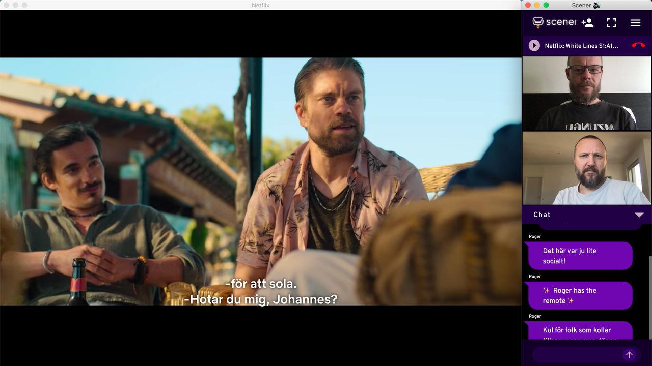 Kolla Netflix och HBO tillsammans med Scener