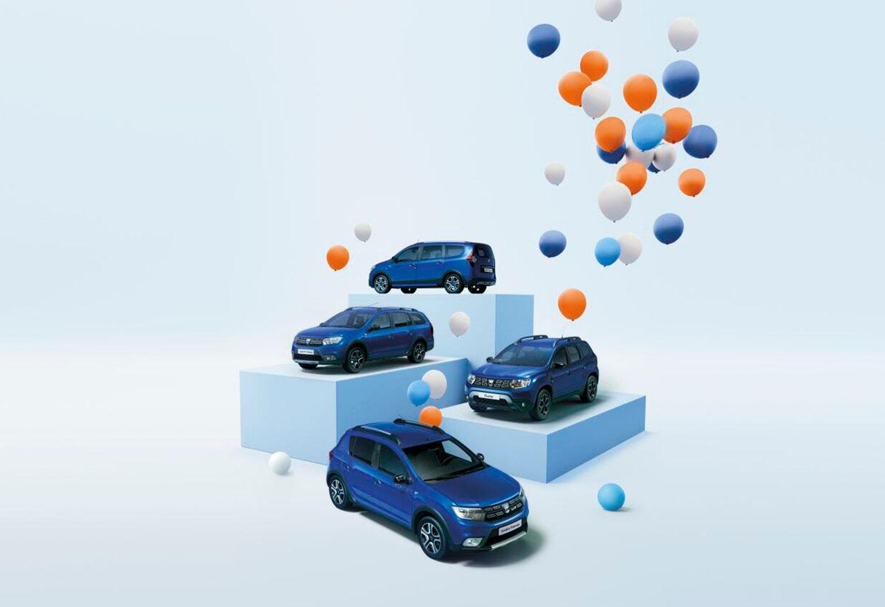 Tut i luren! Dacia har nu funnits i Europa i 15 år