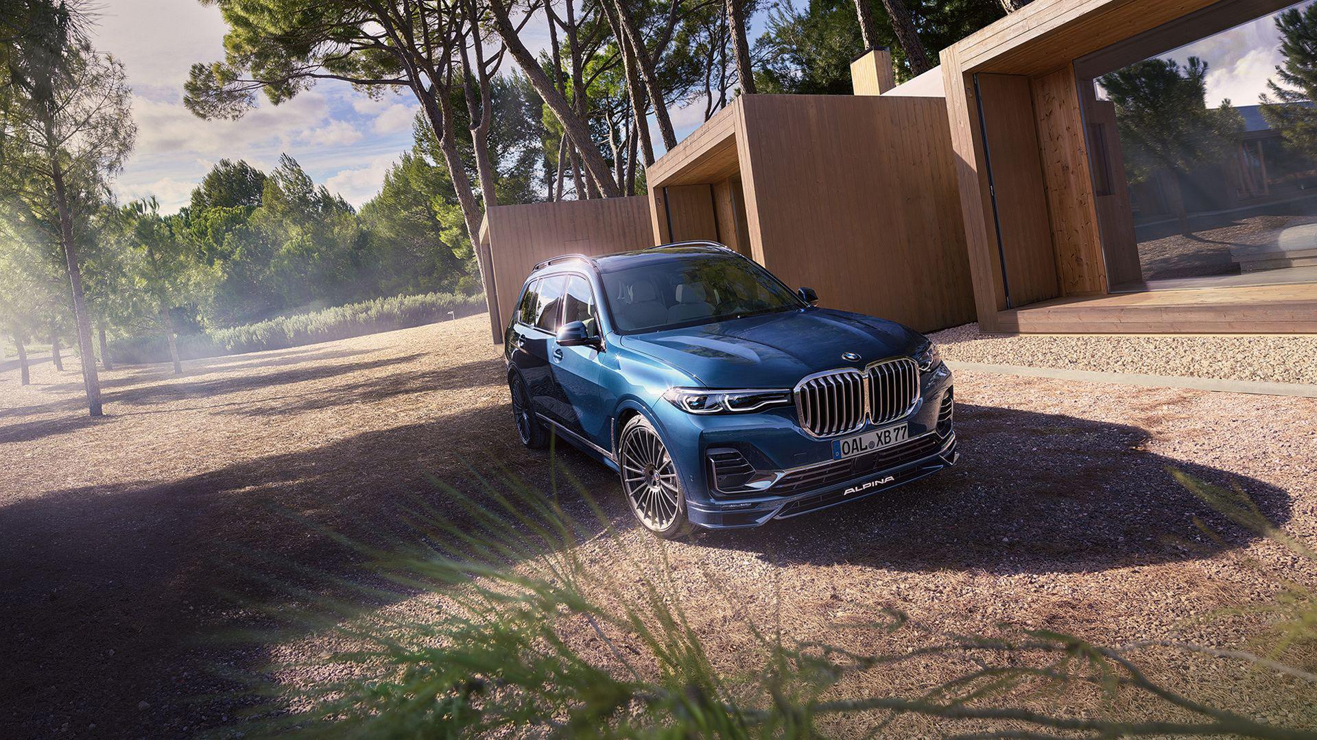 Alpina har nu förädlat BMW X7