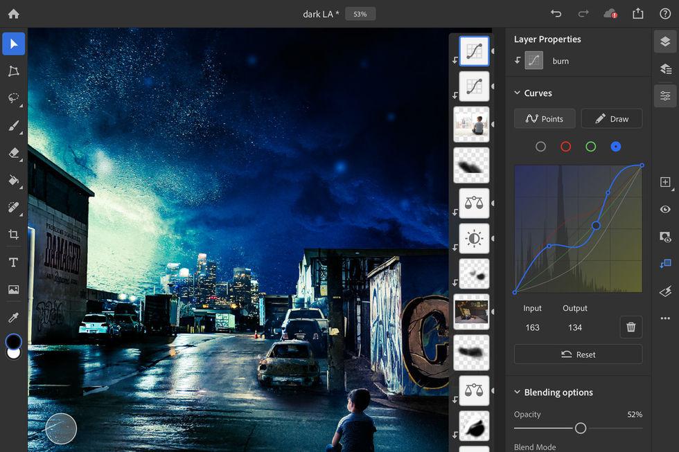 Photoshop för iPad får bättre stöd för Apple Pencil