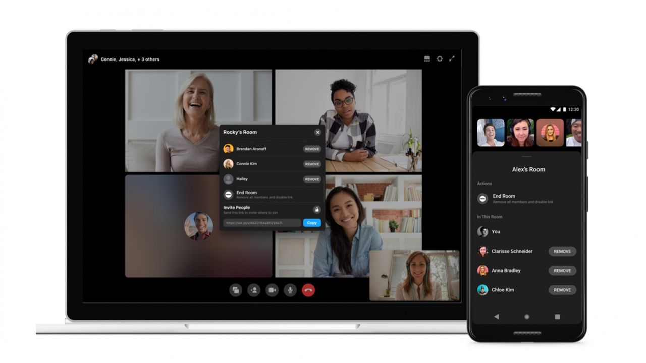Facebook lanserar Workplace Rooms