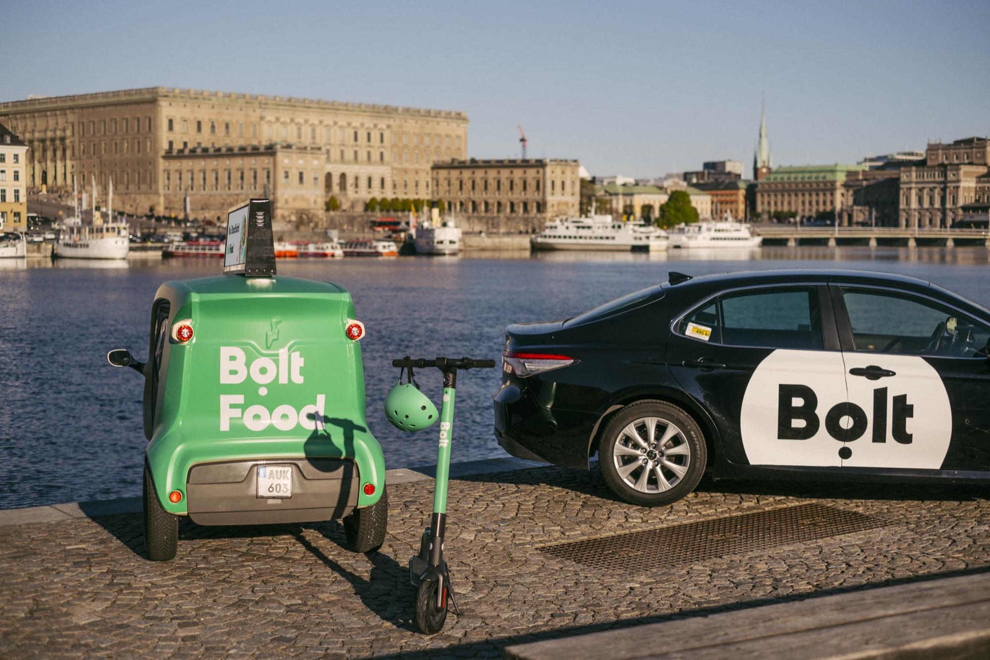 Nu kommer Bolts elsparkcyklar till Stockholm Bolt satsar när andra försvinner