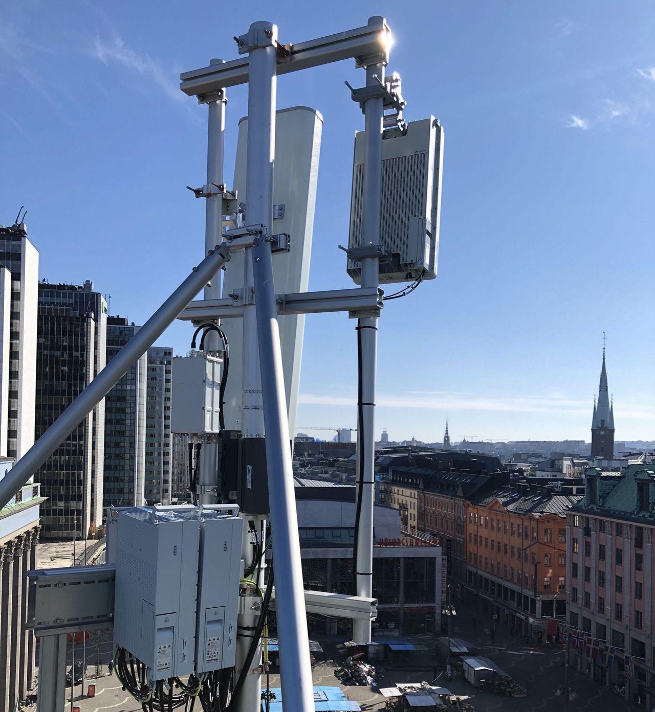 Centrala Stockholm fick publikt 5G-nät i dag