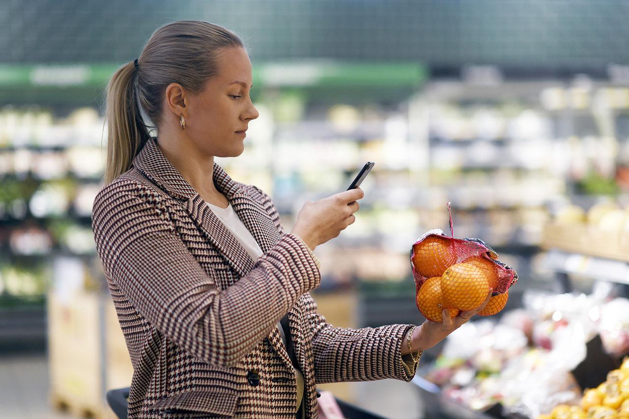 Coop Norge kör självskanning med mobilen