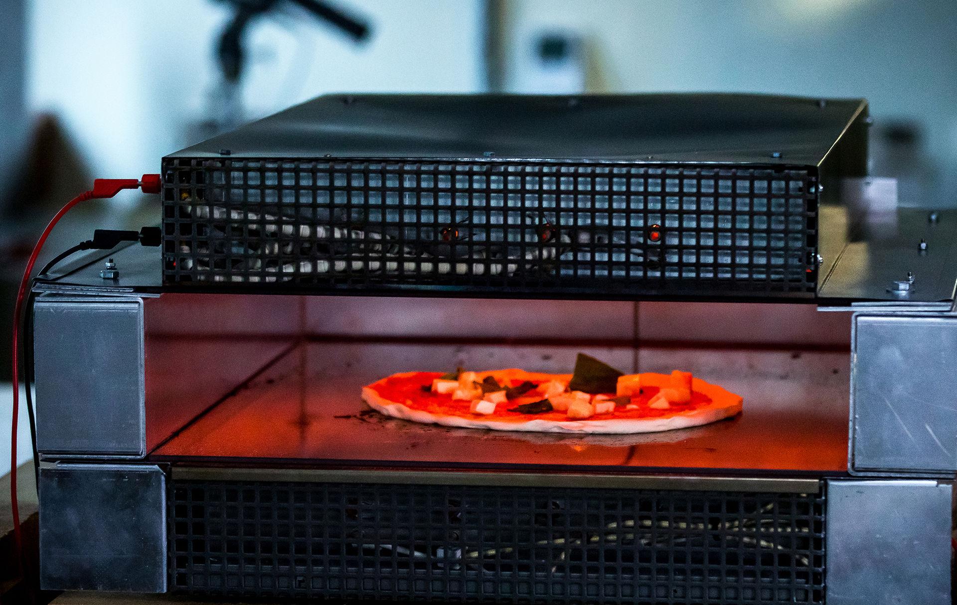 Det här kan vara världens snabbaste pizzaugn