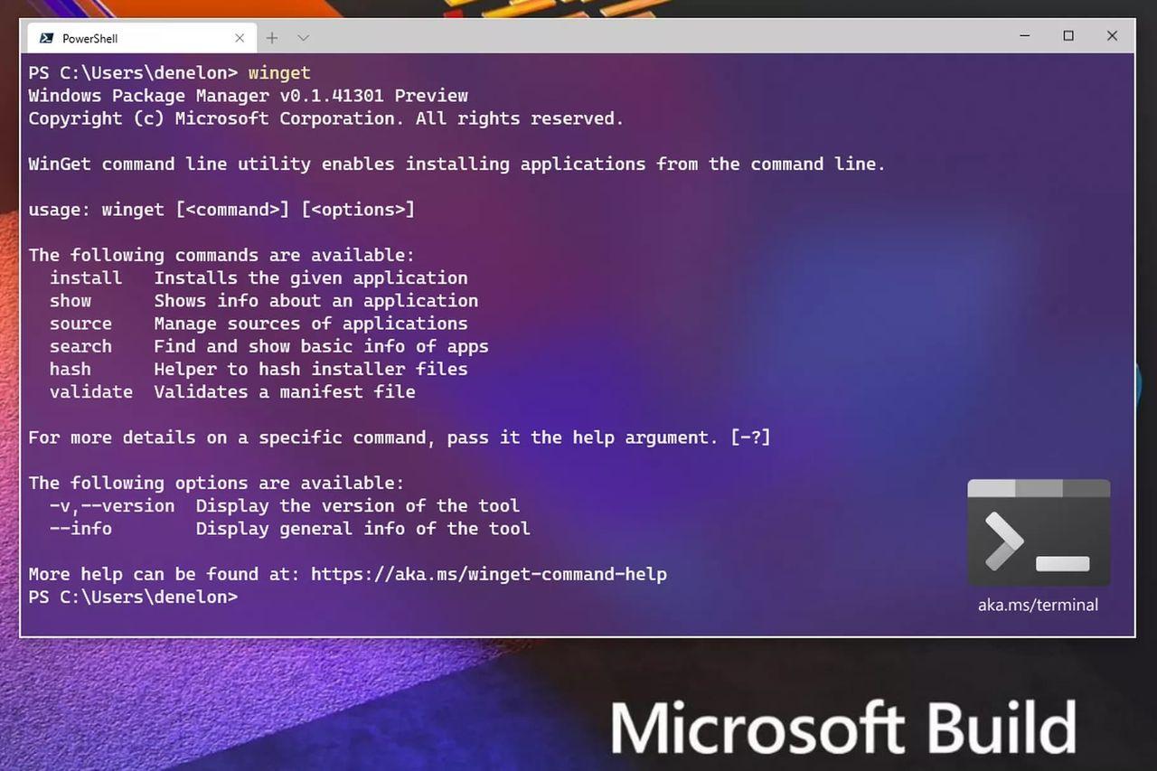 Windows 10 får en officiell pakethanterare