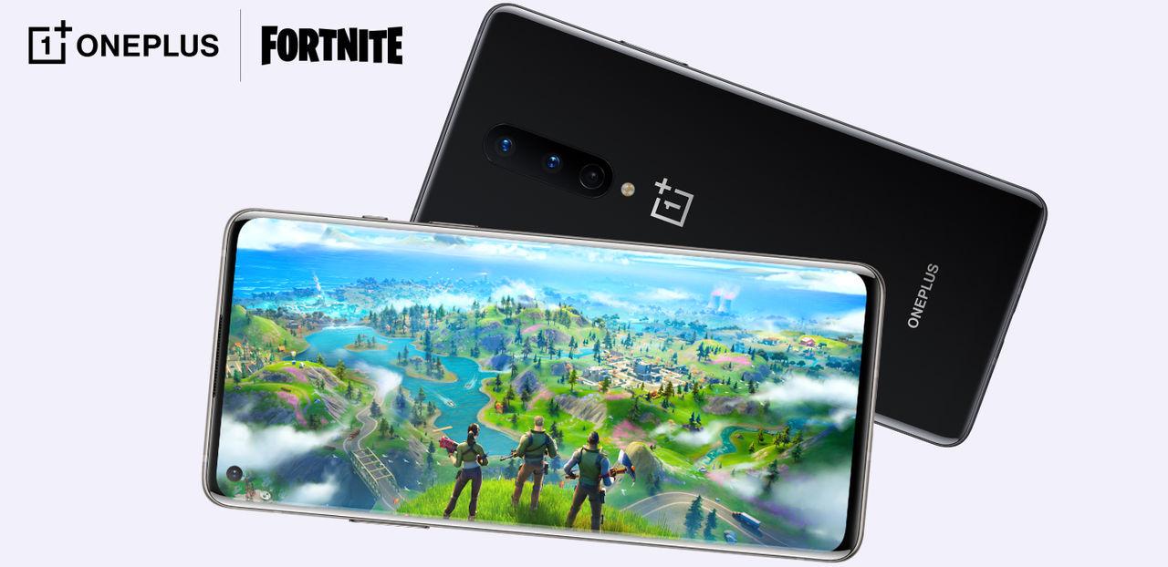 Spela Fortnite i 90 fps på OnePlus 8