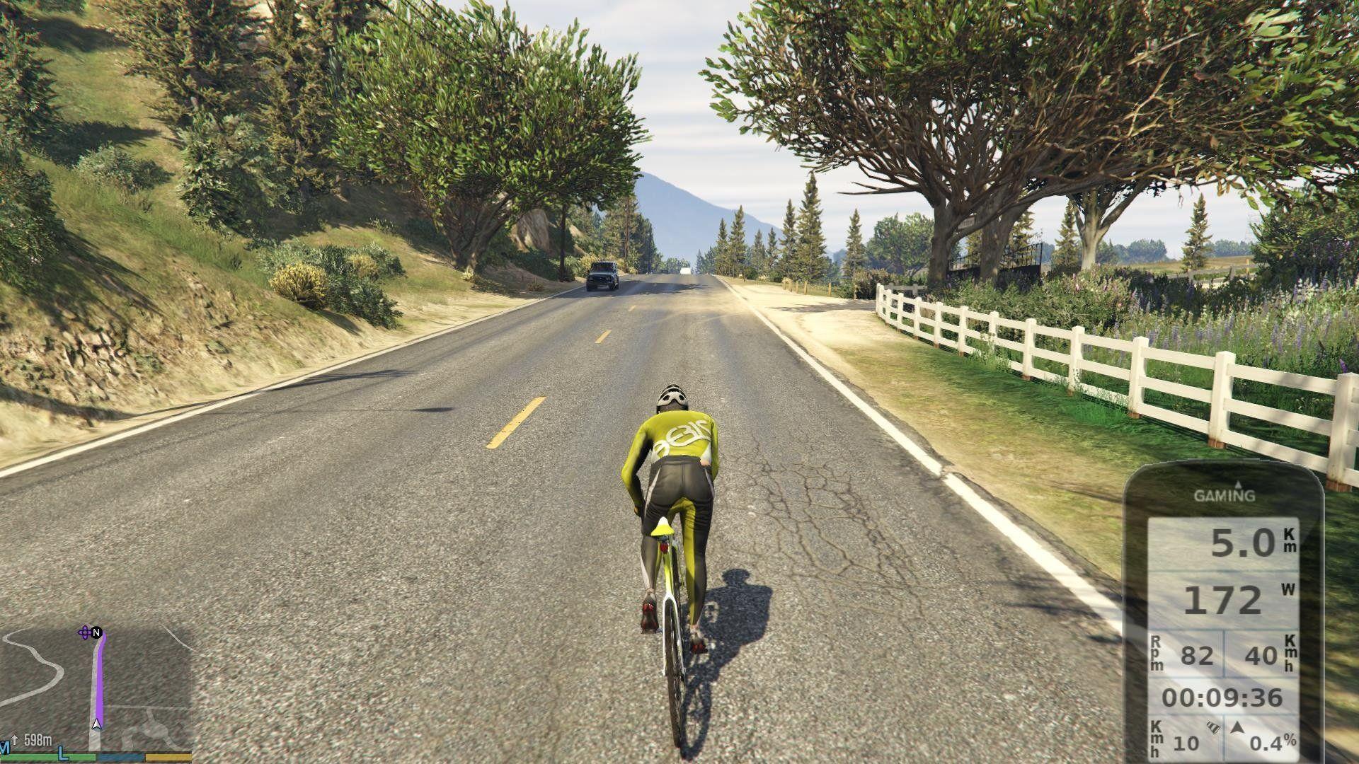 Mod till GTA V låter dig cykla runt i Los Santos