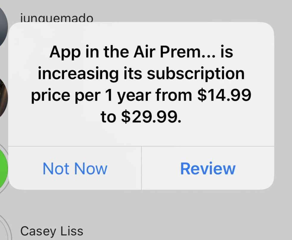 Dyrare prenumerationer måste godkännas på iOS