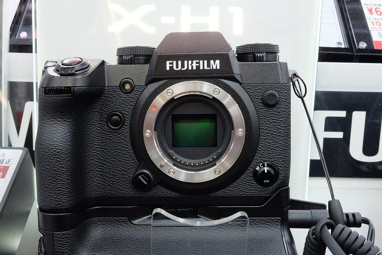 Vissa av Fujifilms kameror går att använda som webbkameror
