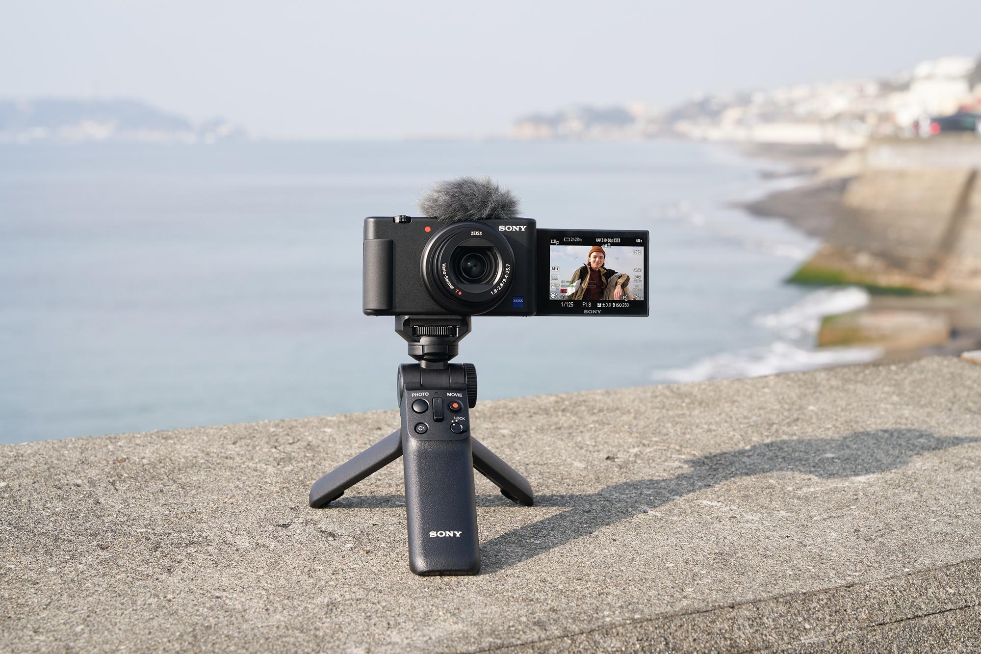 Sony presenterar vloggkameran ZV-1 Som en mer lättanvänd RX100
