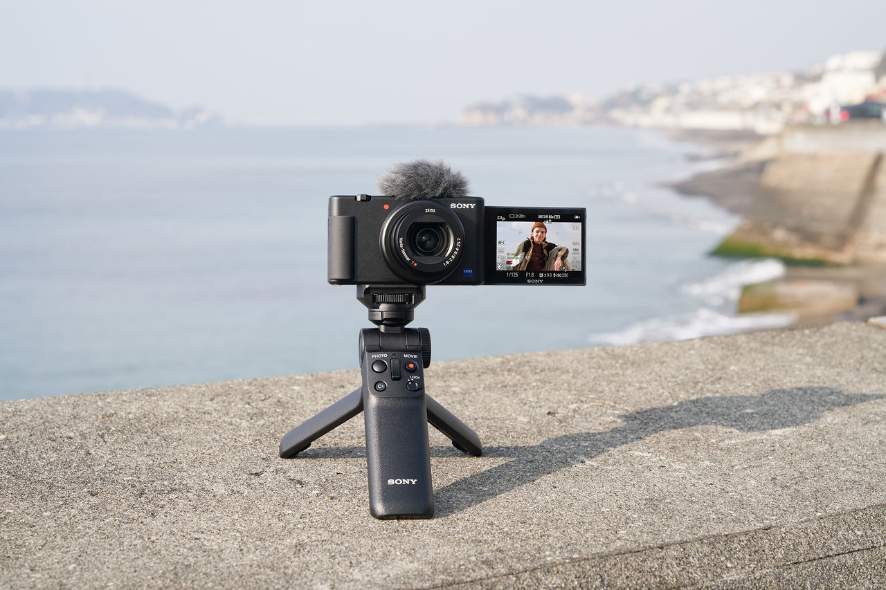 Sony presenterar vloggkameran ZV-1