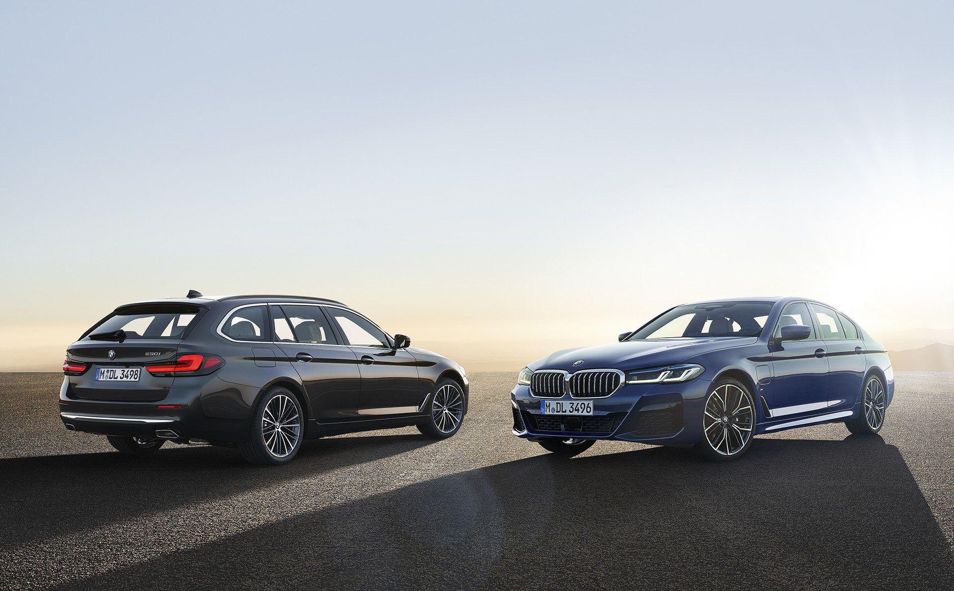 BMW:s uppdaterade 5- och 6-serie är här
