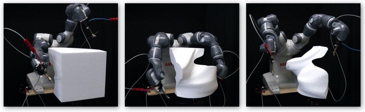 RoboCut är en hejare på att skulptera
