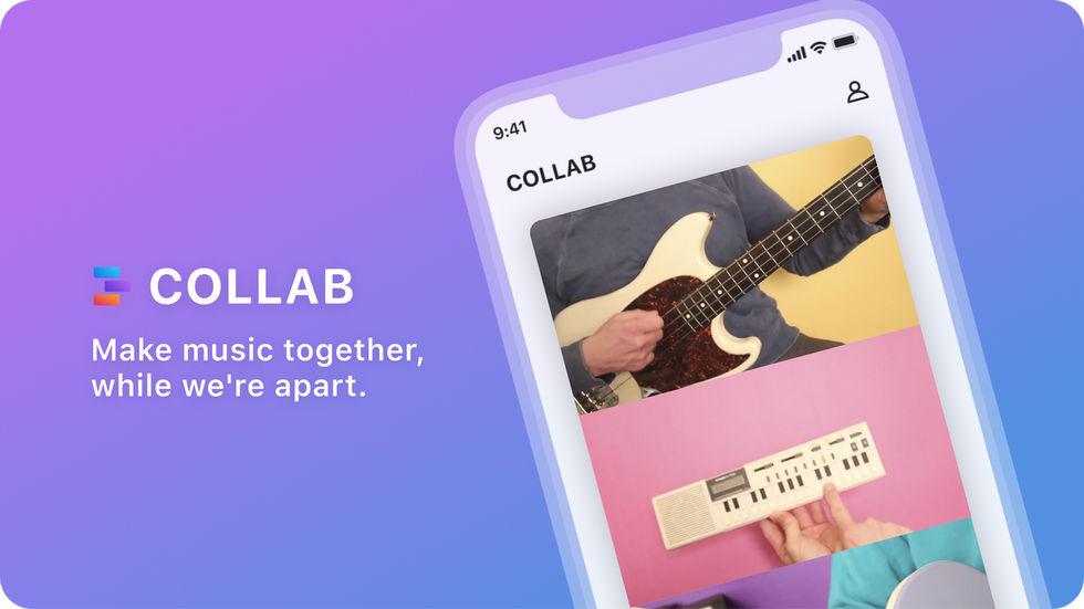 Facebook lanserar musik-appen Collab