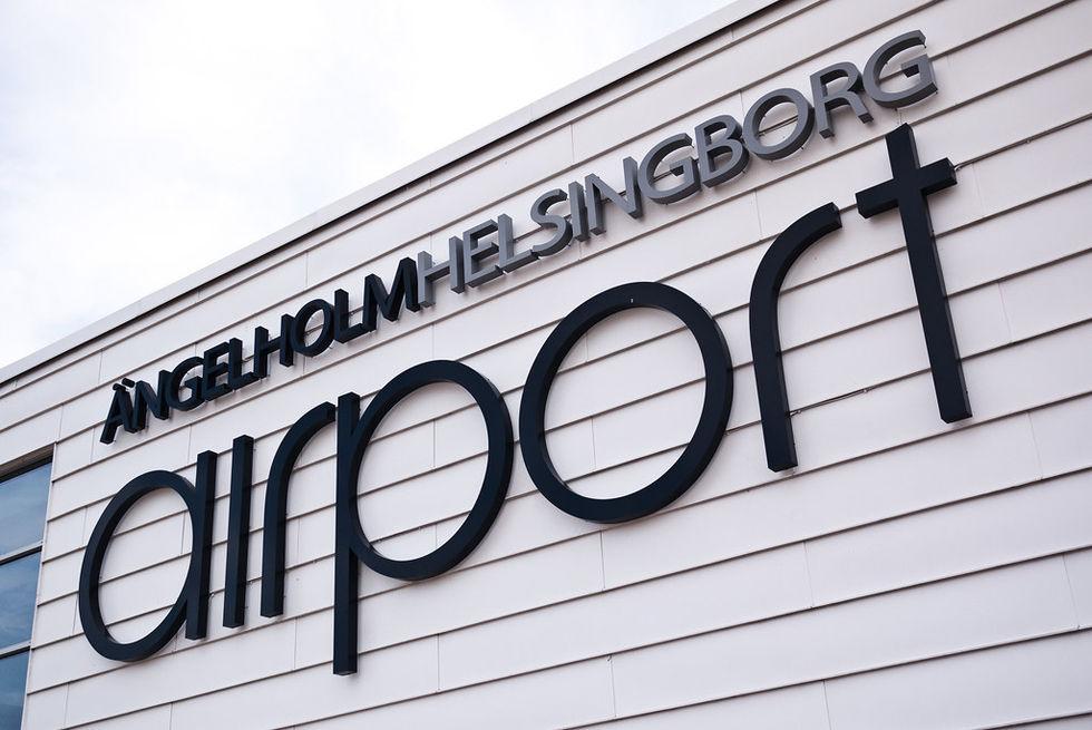 Ängelholm Helsingborg Airport stänger tills vidare