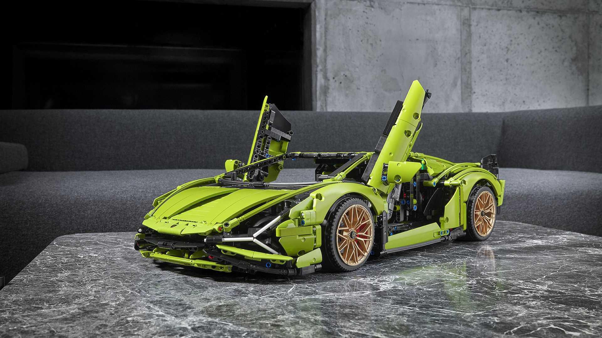Lamborghini Sián FKP 37 nu i Lego-form