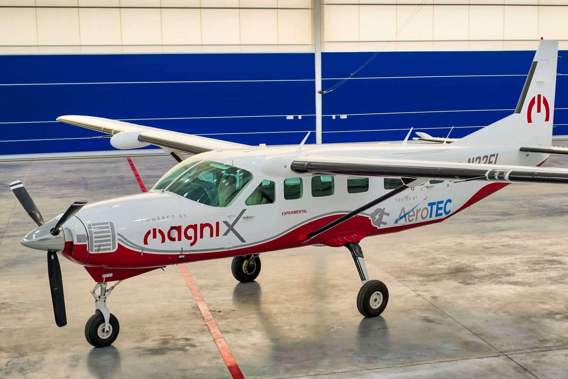 eCaravan är världens största helelektriska flygplan
