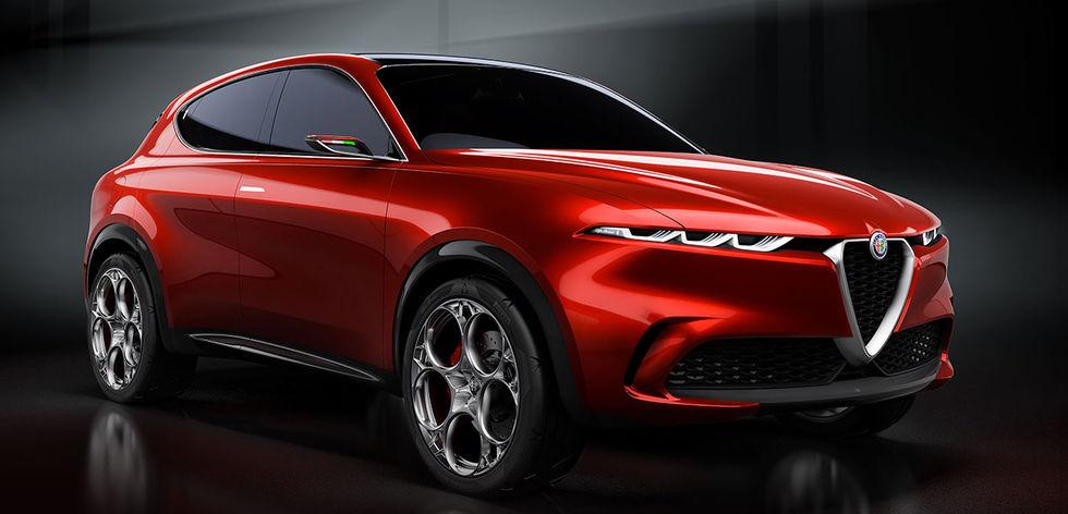 Alfa Romeos eldrivna SUV kommer 2022