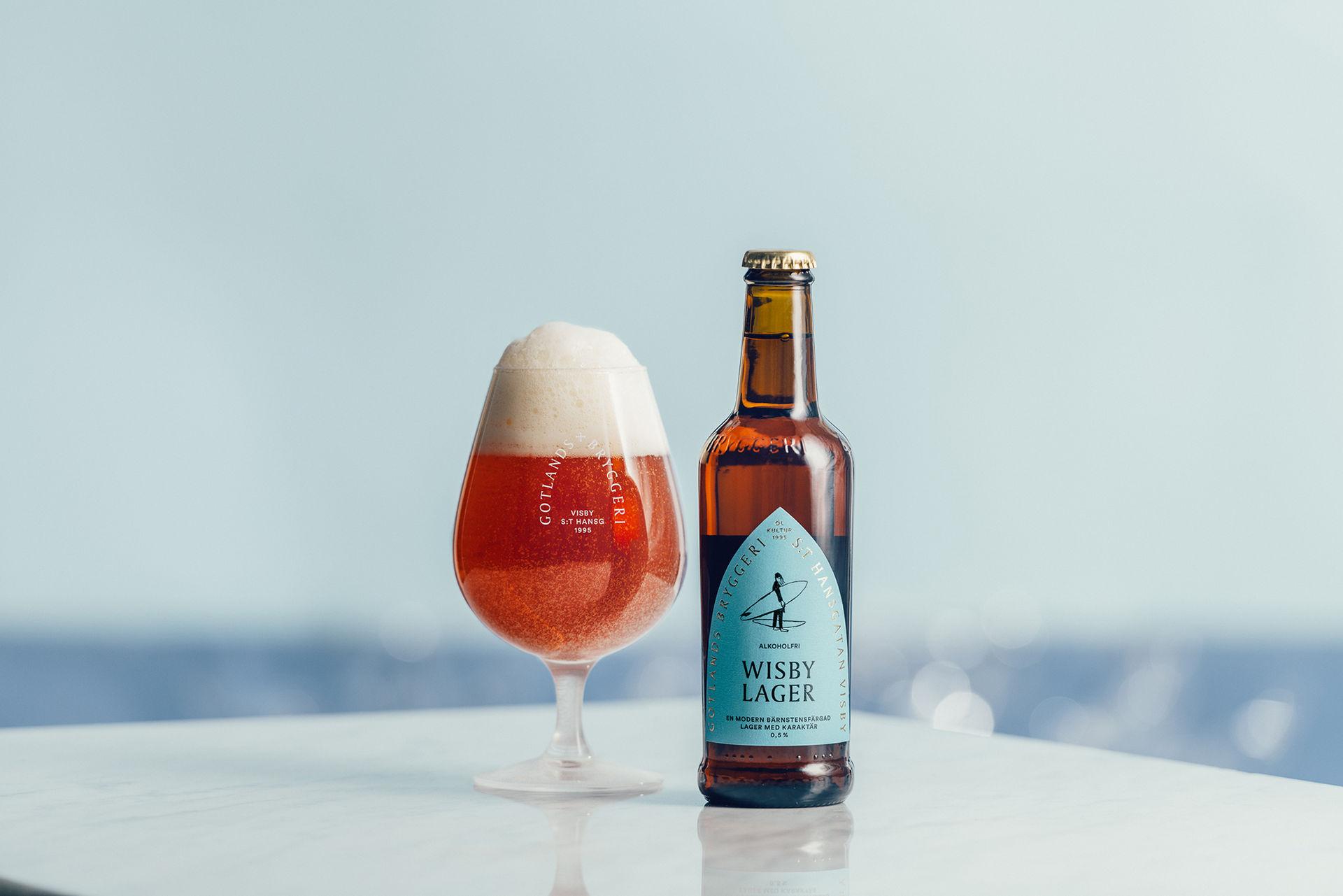 Lyssna på öl och Gotland