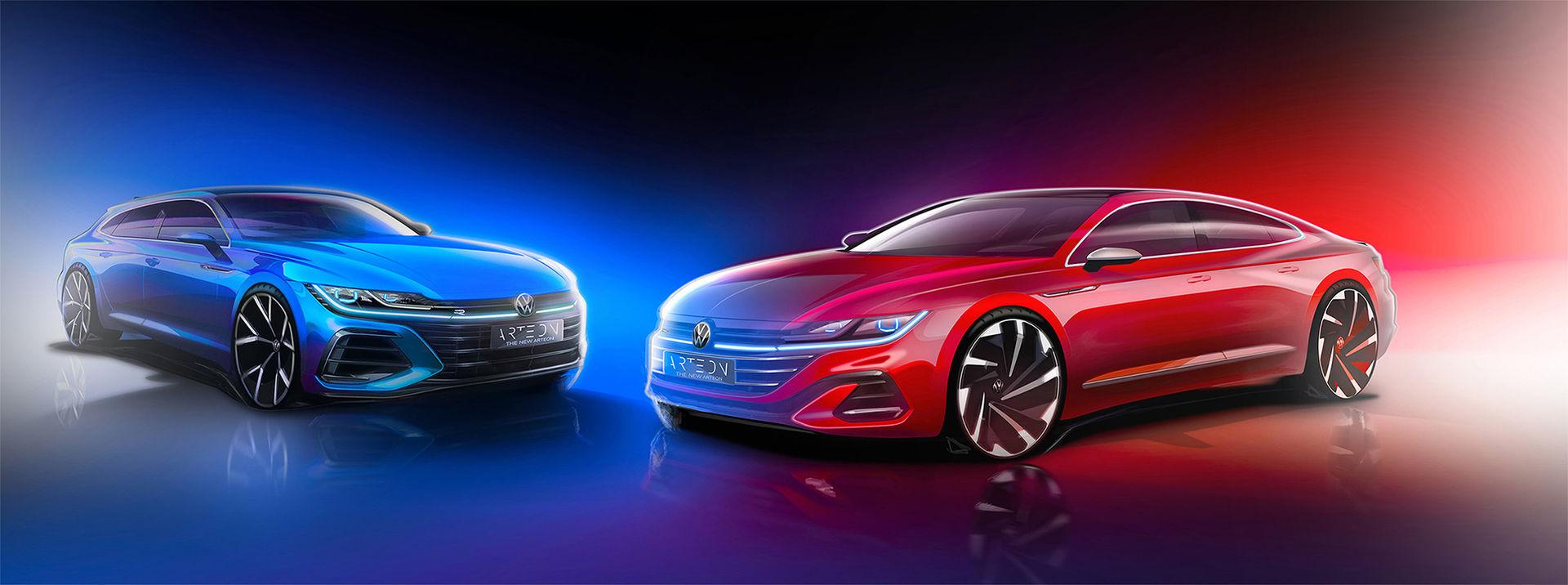 Bekräftat - Volkswagen Arteon kommer som slank kombi