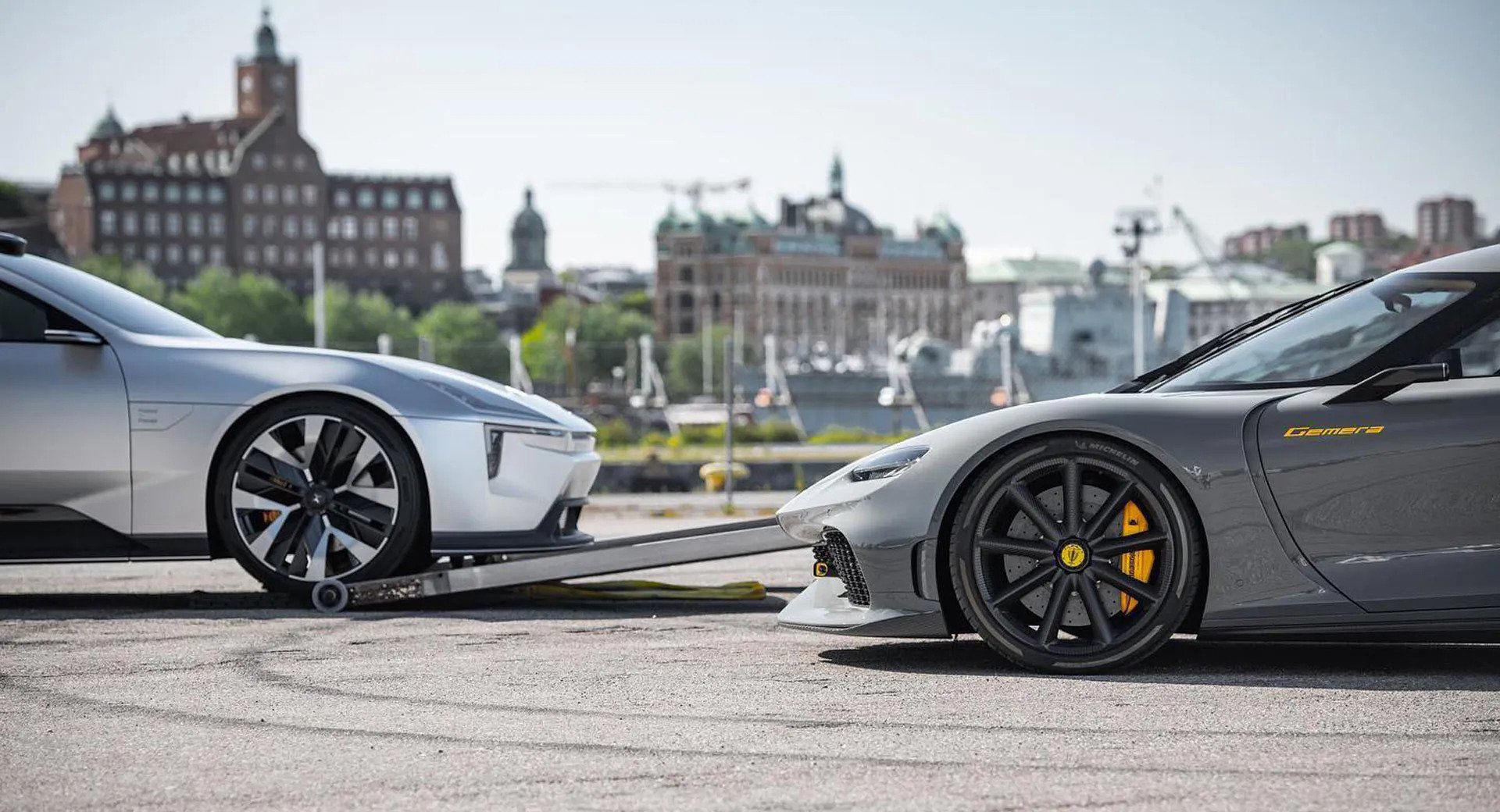 Koenigsegg har något på gång tillsammans med Polestar