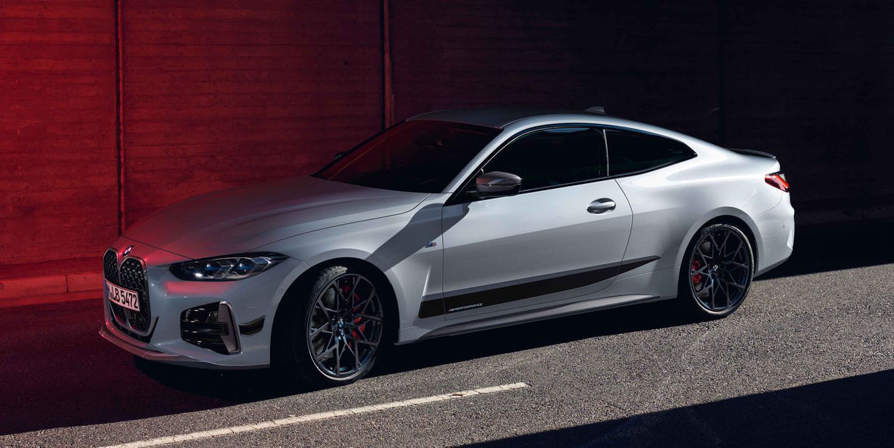Nya BMW 4-serie med M Performance-delar