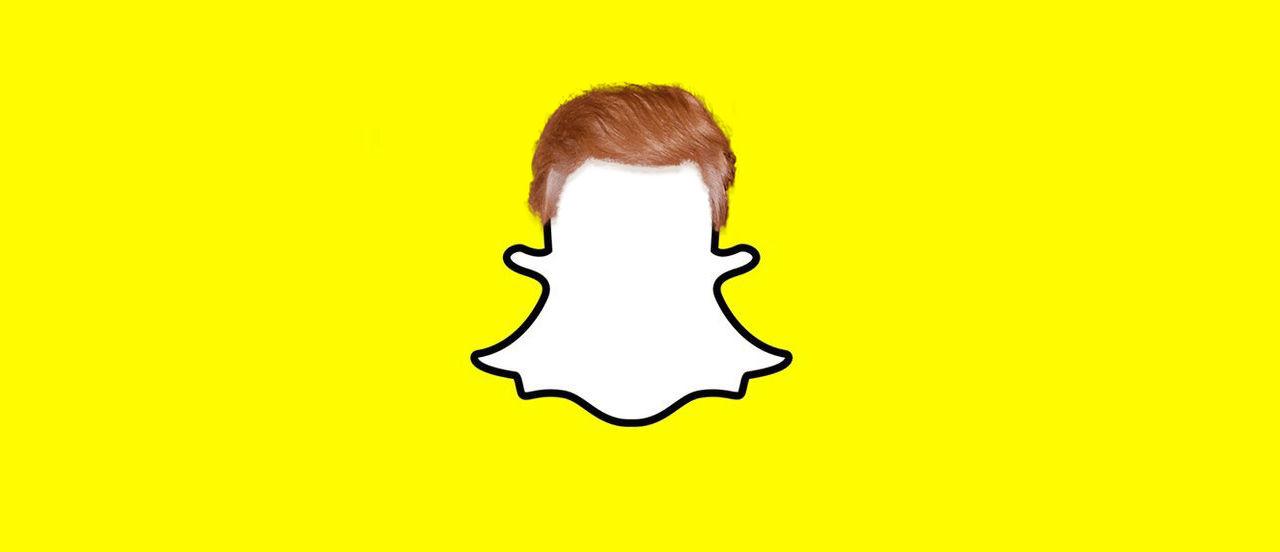 Snapchat slutar promota Trump på sin tjänst