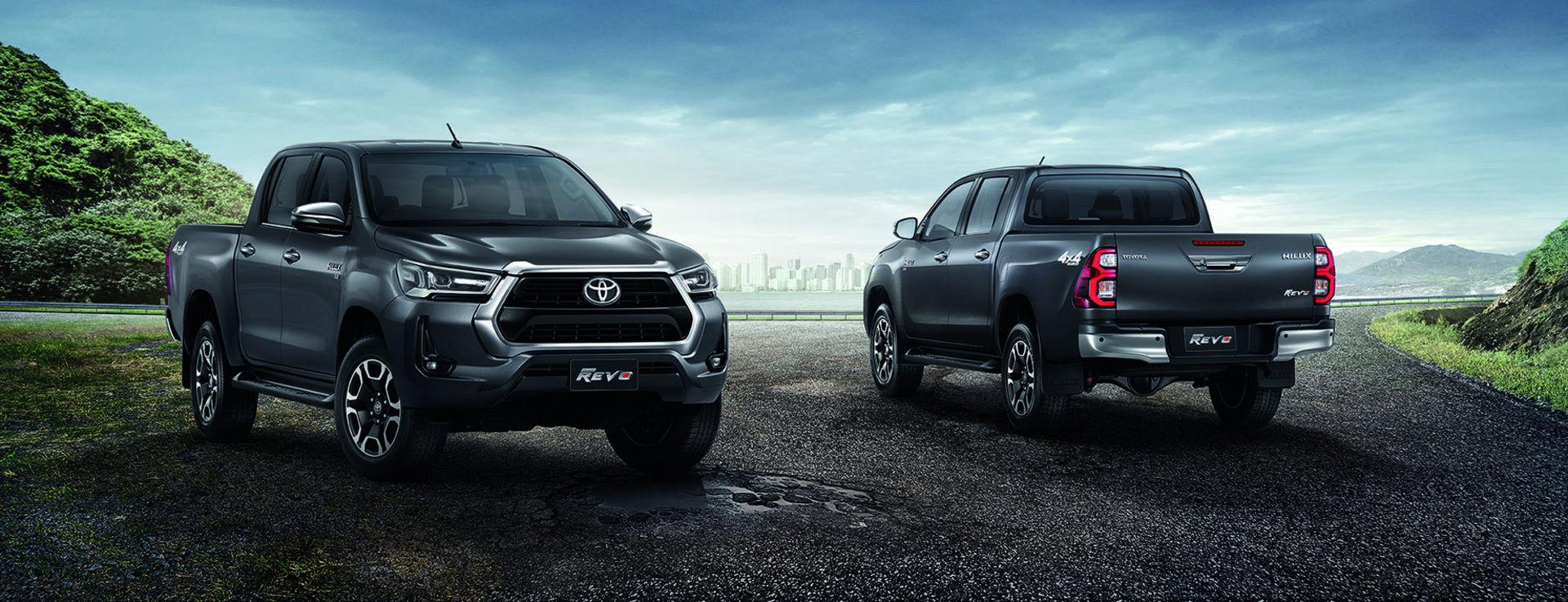 Toyota uppdaterar Hilux