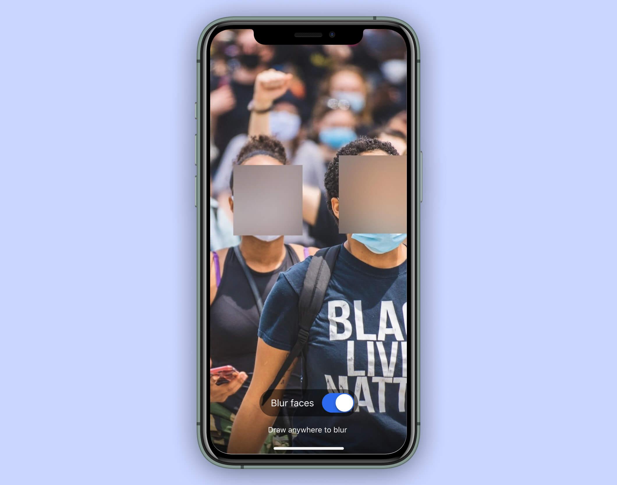 Signal släpper verktyg som blurrar ansikten automatiskt Bra att ha om man postar demonstrationsbilder