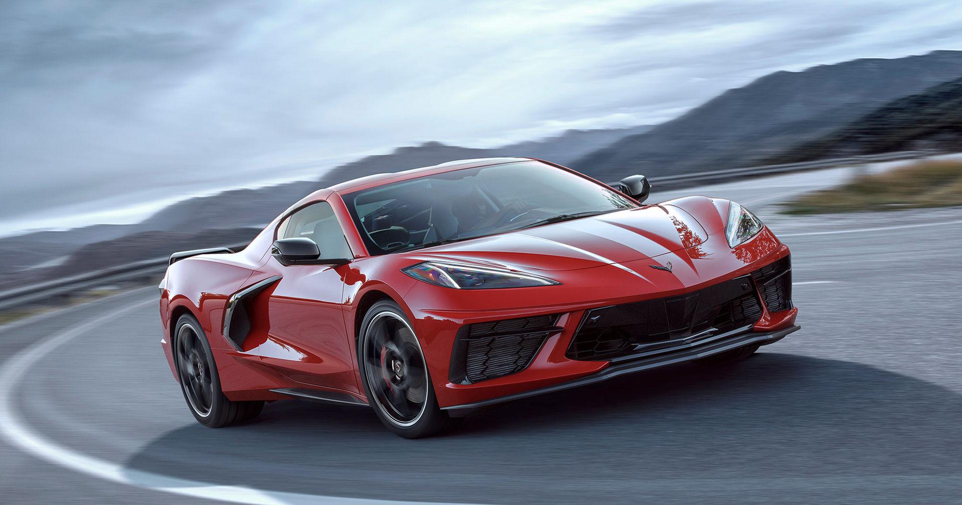 Corvette C8 till Europa nästa år