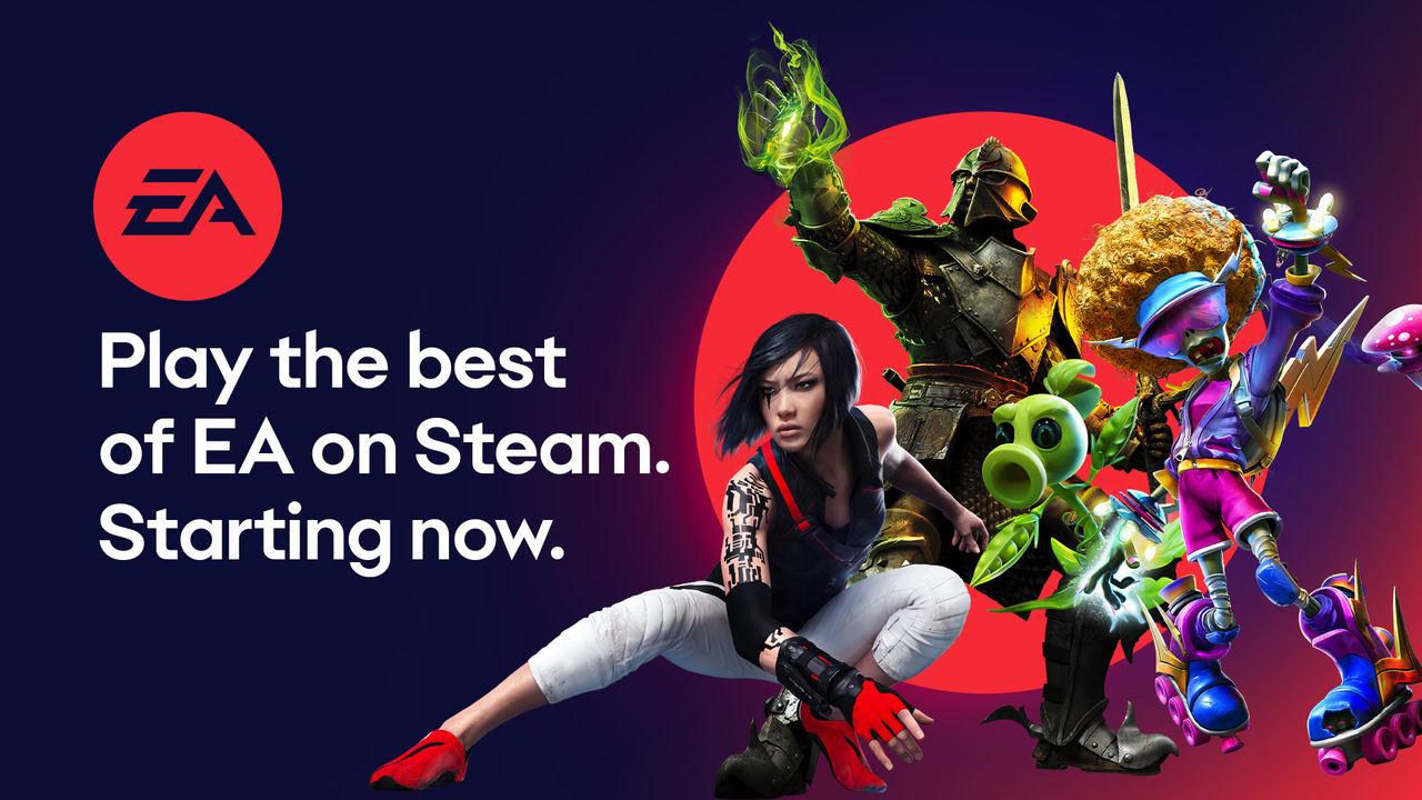EA lägger till massvis med spel på Steam
