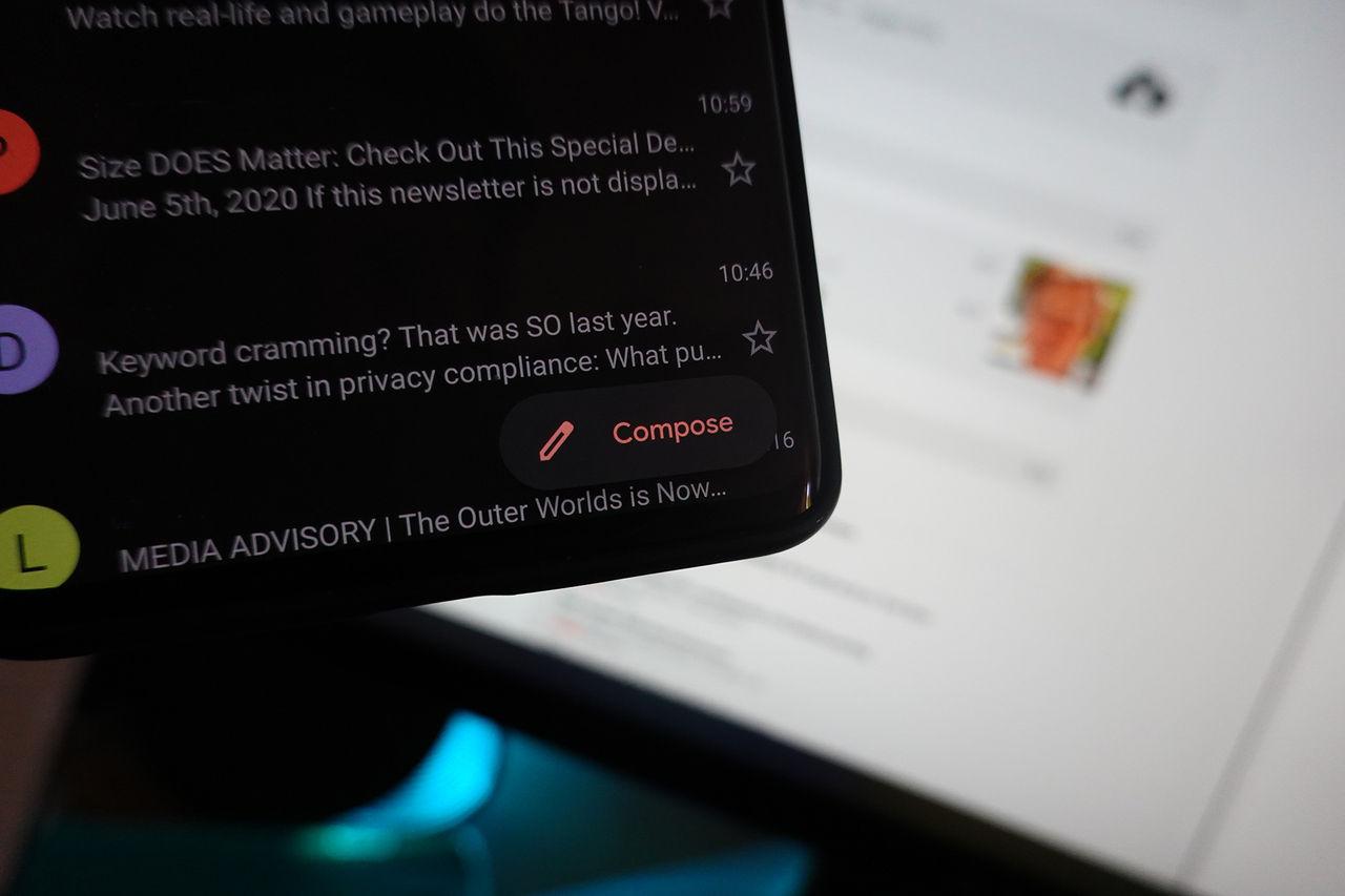 Gmail på Android får tydligare mail-knapp