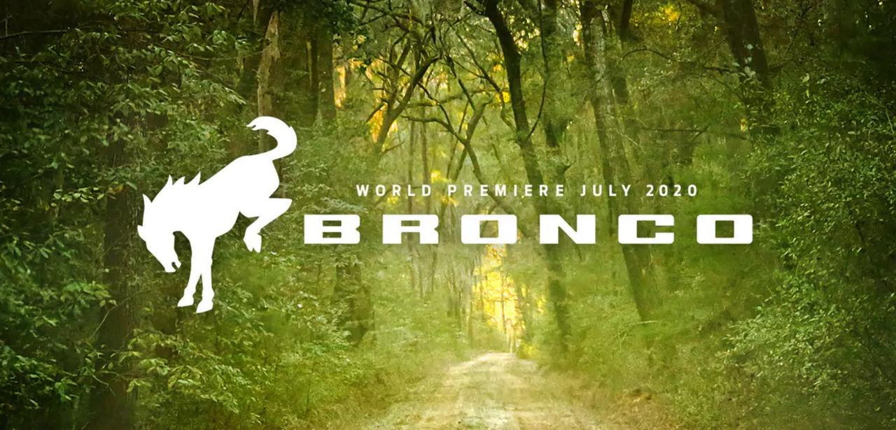 Nya Ford Bronco presenteras i juli