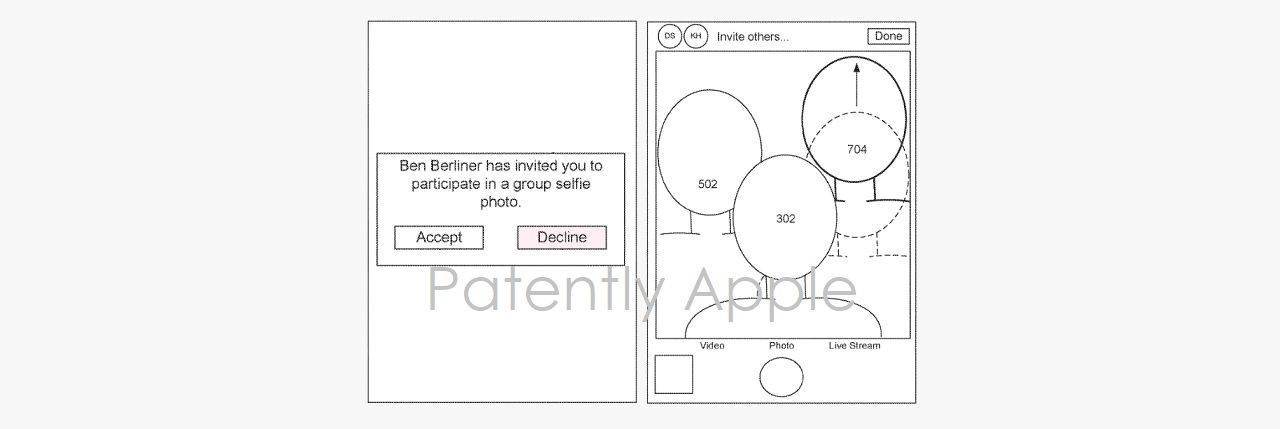 Apple får patent för virtuella gruppbilder