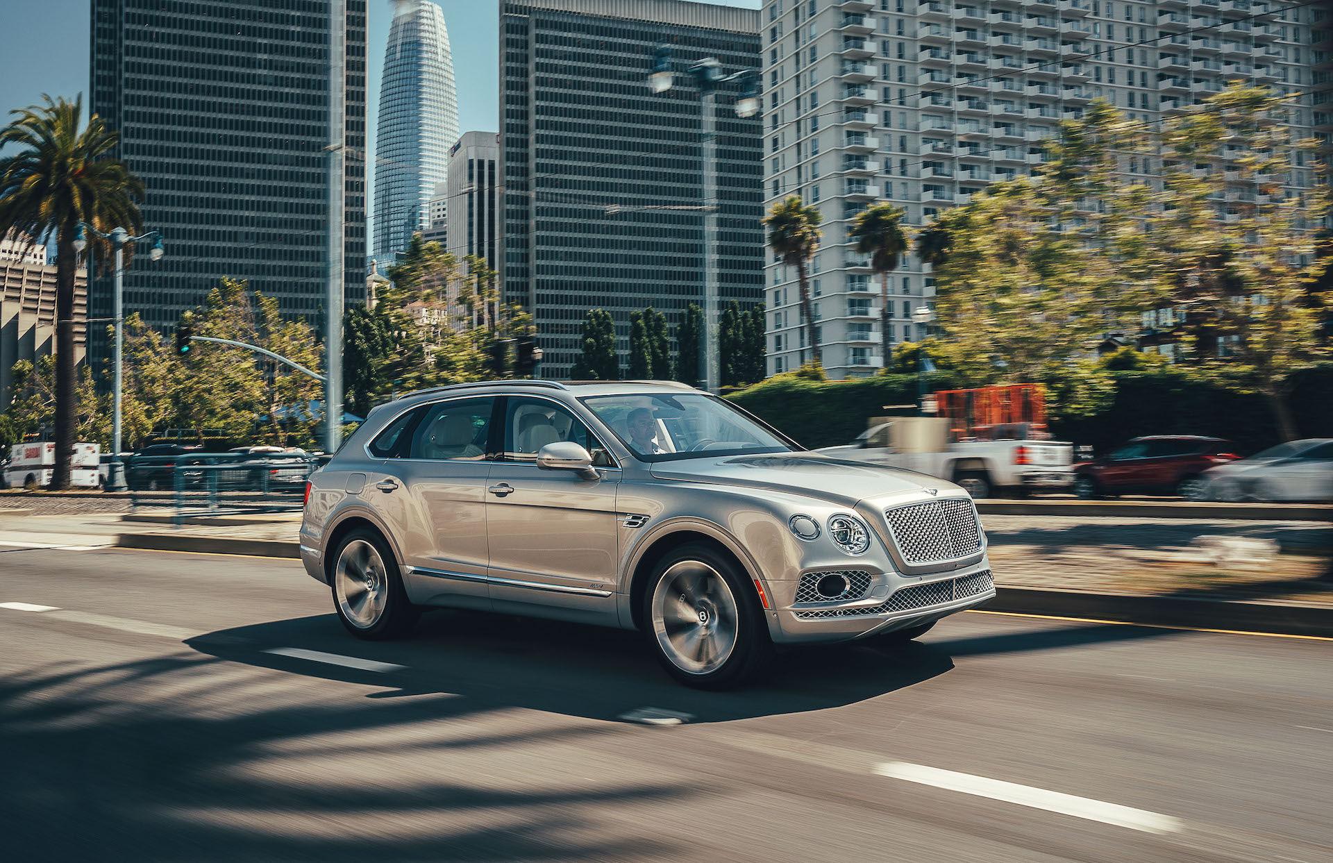 Bentley har redan lyckats sälja 20.000 Bentayga