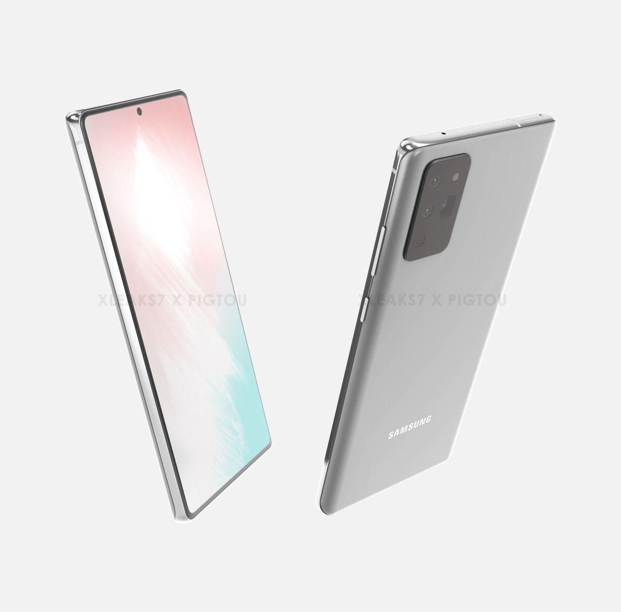 Samsung Galaxy Note 20 ryktas visas upp 5 augusti