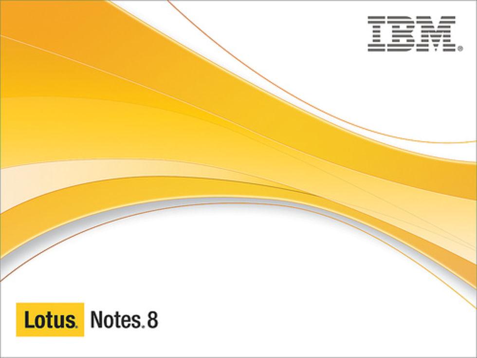 Lotus och Exchange-stöd till iPhone nästa vecka?