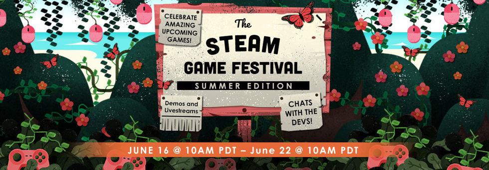 Steam Game Festival kommer hållas 16-22 juni