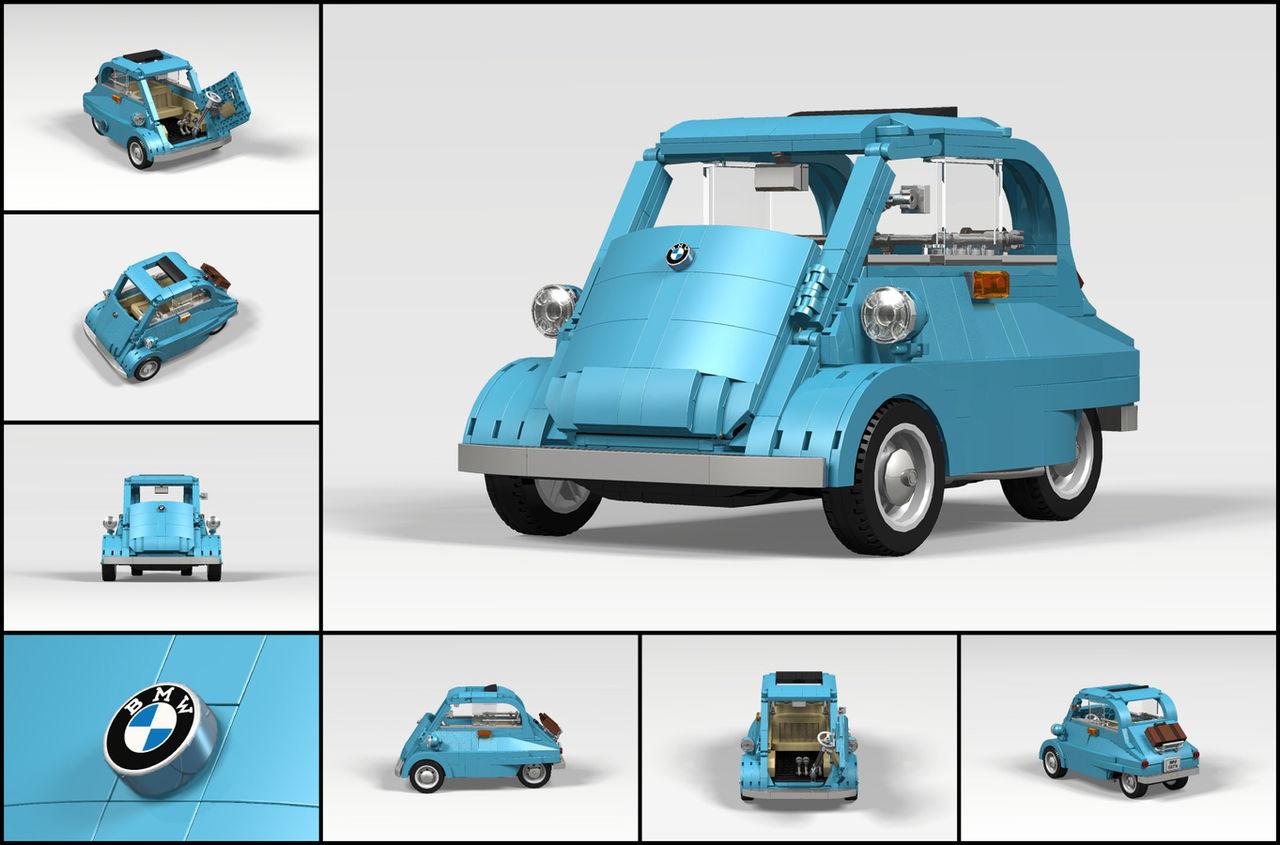 En BMW Isetta i Lego-form